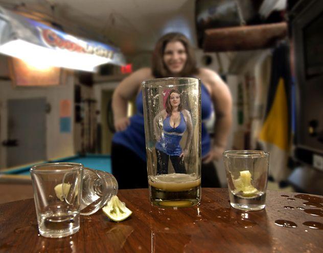 Őrült alkoholisták, alkoholista férfiak
