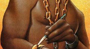 Néger rabszolga lánc -- Fuxos Néger Arany lánc ;D