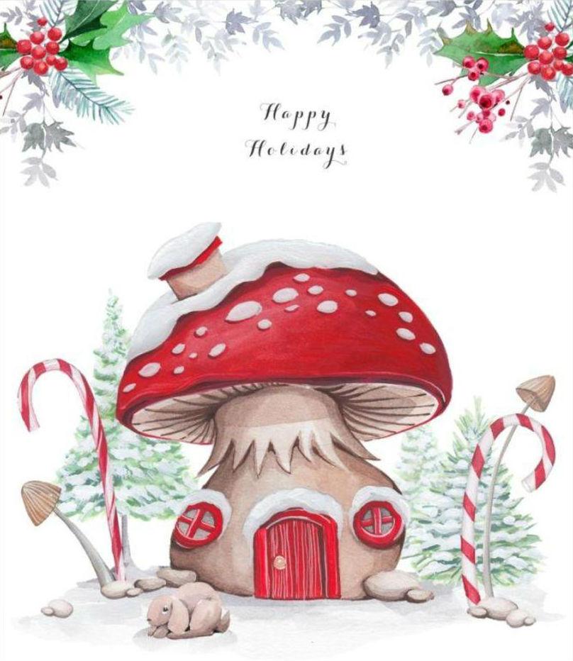 Pszichedelikus gombák és a karácsony összefüggés hallucinogén gombákkal