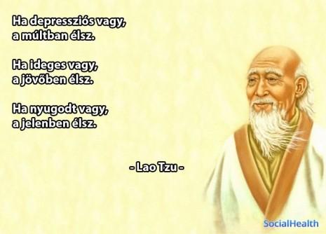 Lao Ce idézet: Ha ideges vagy