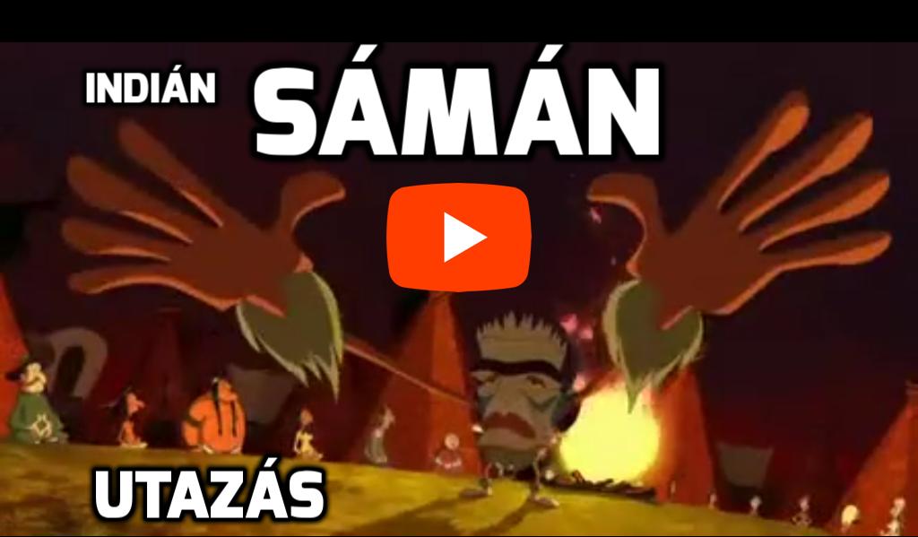 Indián sámán mágus utazás