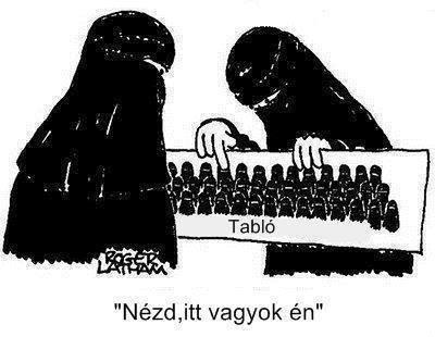 Muszlim tablókép