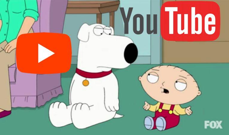 Youtube Pénzkeresés - Family Guy