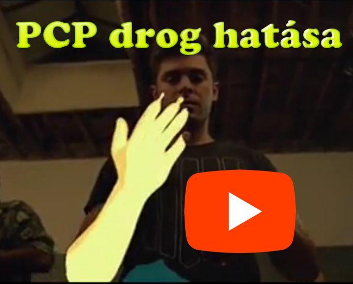 Mi a PCP drog hatása