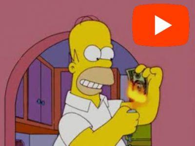 Simpson Család Homér Pénz