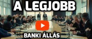 A legjobb banki állás munka