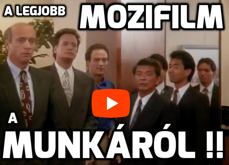 A legjobb mozifilm a munkáról