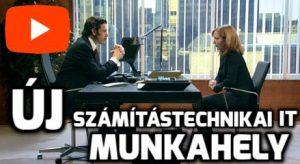 Új számítástechnikai IT munkahely