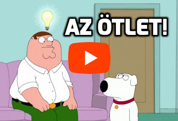 Family Guy villanykörte ötlet