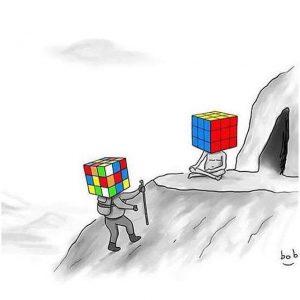Rubik kocka megvilágosodás ;)