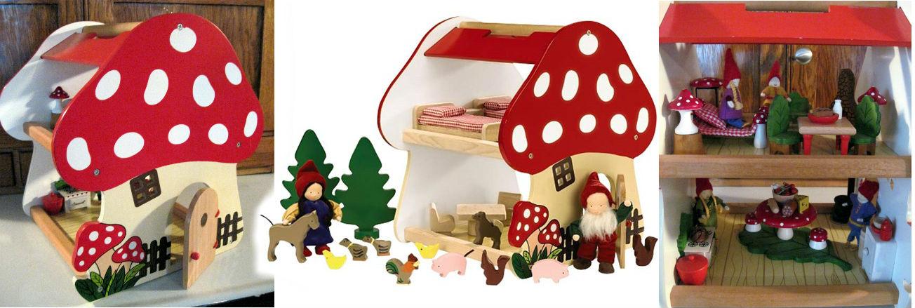 Gomba játékok gombás gyerekjátékok mesék mesefigurák játék gyerekeknek gombával
