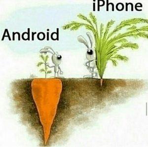 iphone vs. android összehasonlítása