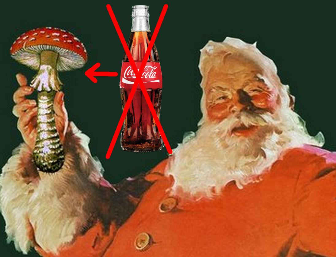 Télapó mikulás Coca Cola kóla piros szín eredet