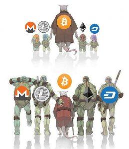 Bitcoin s az altcoinok közötti különbség