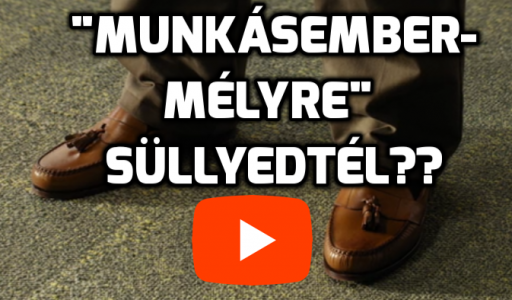 Munkásember mélyre sülyedtél Dwayne Johnson cipő videó részlet David Hasselhoff munka