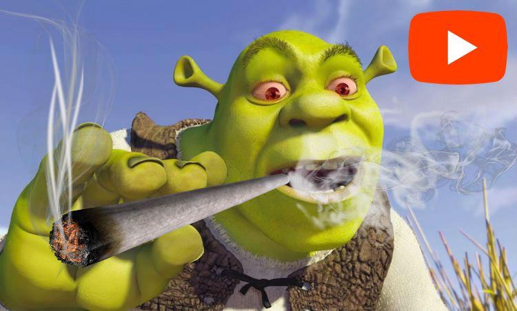 Shrek fű marihuána cannabis video részlet macskagyökér tömjén drogozik
