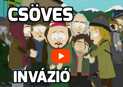 Csöves invázió South Park módra! A csövesek támadása!