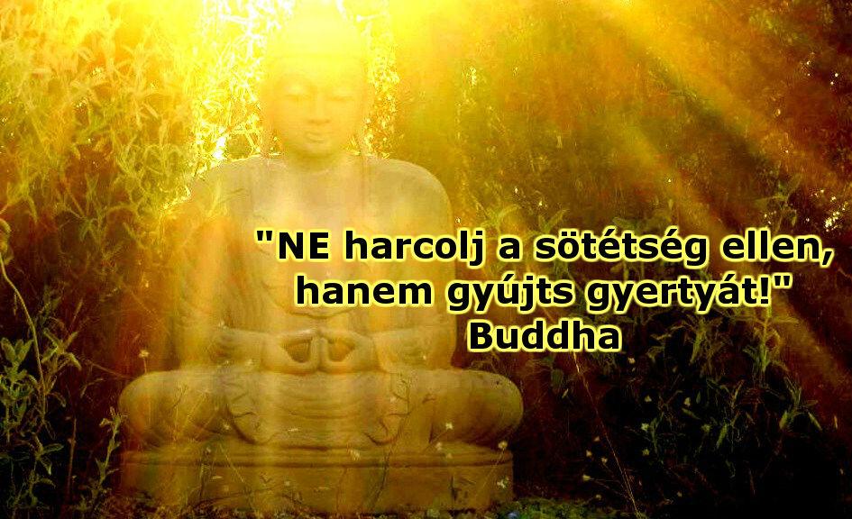 Buddha Idézet: NE harcolj..