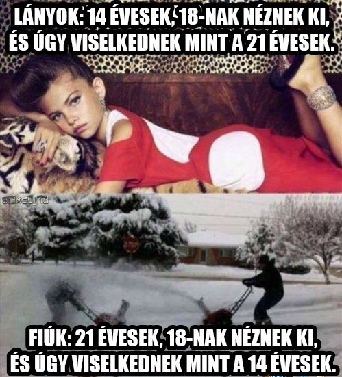 Lányok vs. Fiúk
