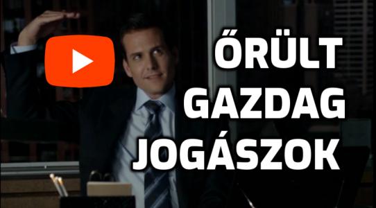 Gazdag jogászok, Őrült ügyvédek videó
