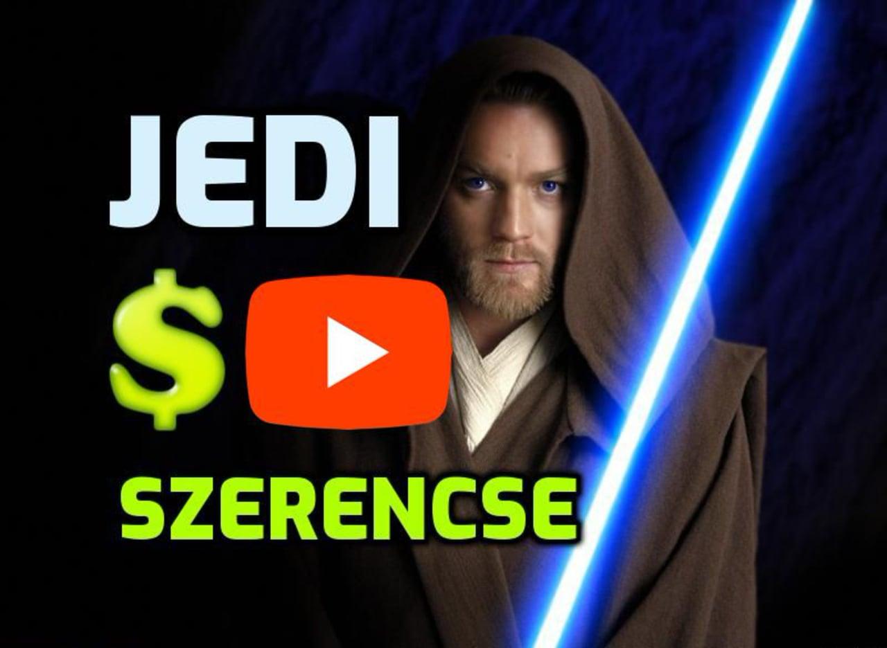 A Jedi szerencse titka: Star Wars videó idézet Obi Wan Kenobi jeditől ;)