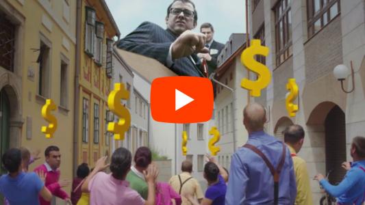 Pénz nagyhatalmi cenzúra videó klip Beshodrom - Vaságy Besh o droM zenés videoklip