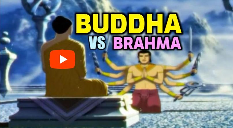 Buddhizmus vs. Hinduizmus azaz Buddha vs. Hindu Brahma istenség videó