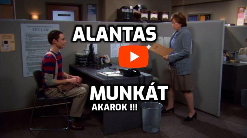 Alantas Munkák az Agymenőkből agymenők sorozat alantas munkát videó részlet