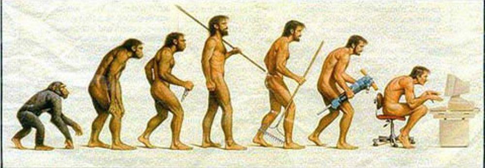 számítógépes kockává fejlődés evolúció számítógép kocka vicces kép