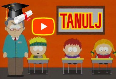 Ülj le és TANULJ !!! ( South Park videó részlet )