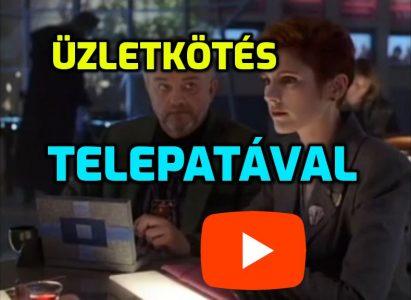 Üzletkötés Telepatával = Hatékonyabb tárgyalás telepata avagy telepátia segítségével videó ;)