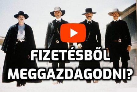 Fizetésből Meggazdagodni videó filmrészlet Wyatt Earp filmből