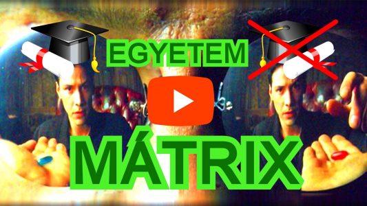 Az Egyetem Mátrix videó