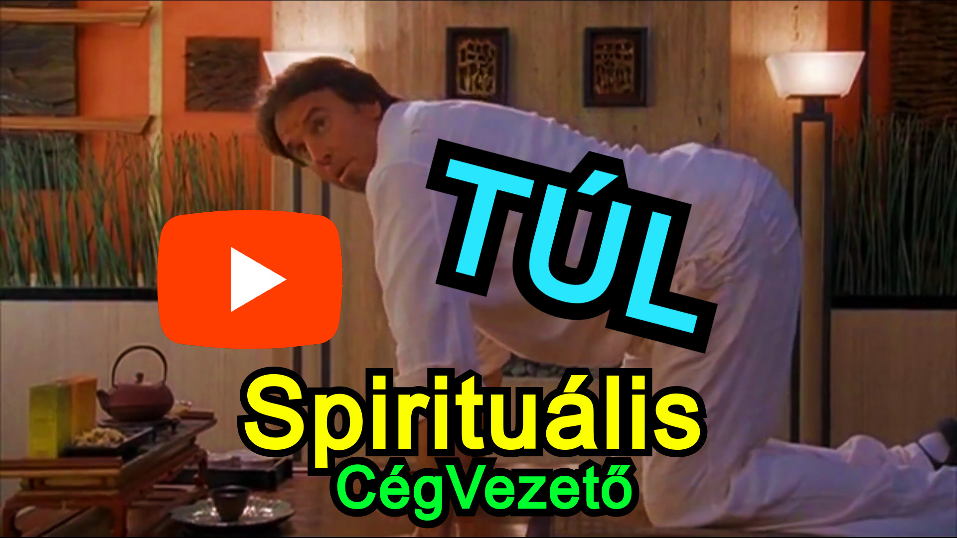 Túl Spirituális Informatikai CégVezető ?? Rövid, Vicces Videó ;D