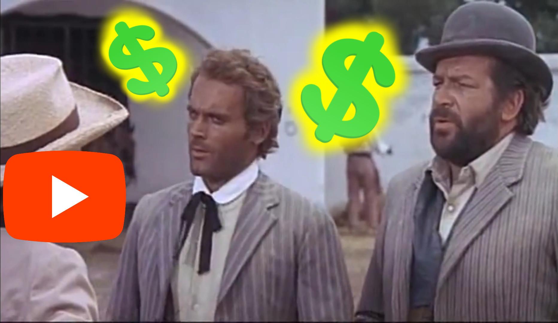 Bud Spencer & Terence Hill munka helyett behunyja a szemét film részlet