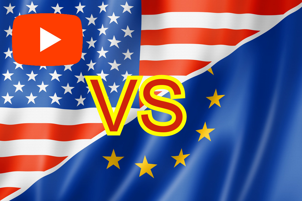 Amerika USA vs. Európa háború összehasonlítás videó