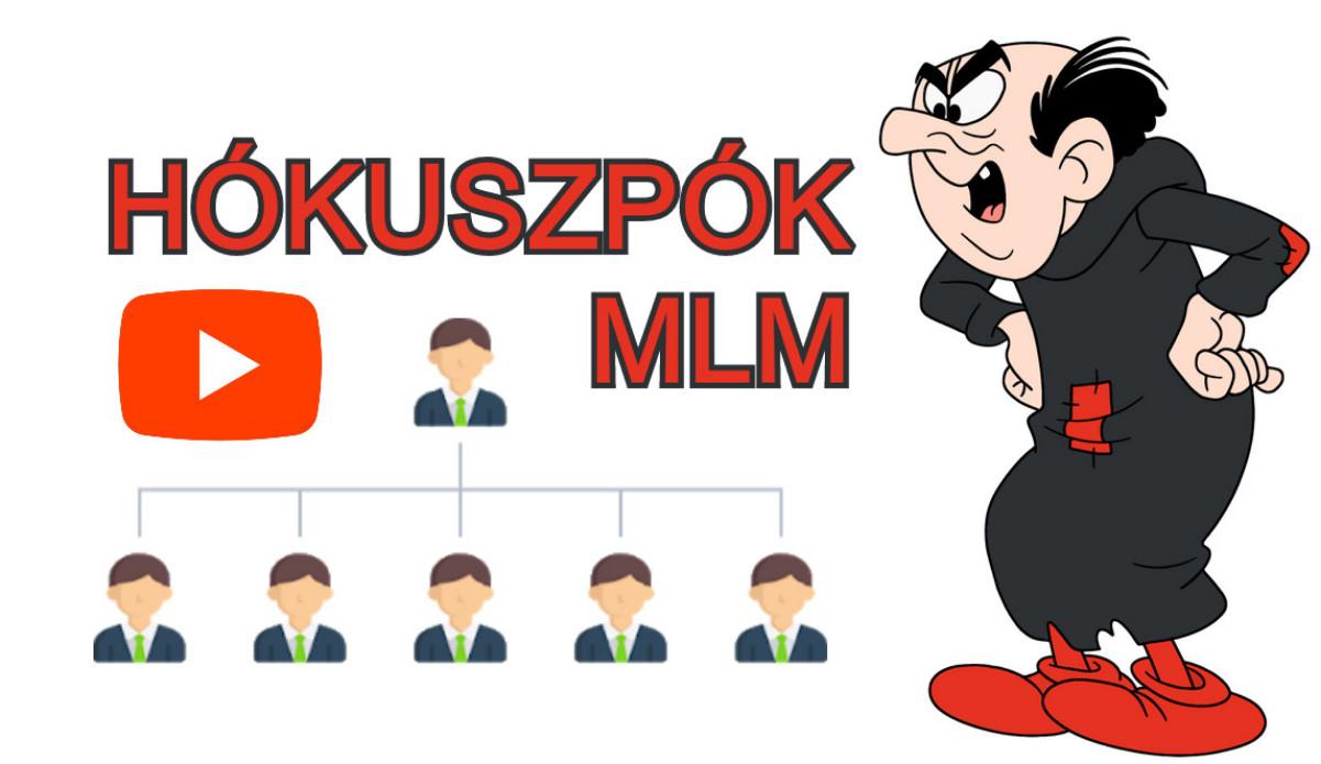 Hókuszpók MLM hálózatot épít Hupikék Törpikék multi level marketing csapatépítés videó részlet