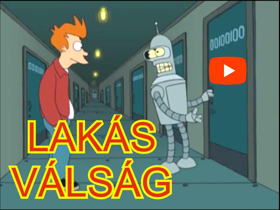 ingatlan / lakás / albérlet válság vicces paródia videó részlet