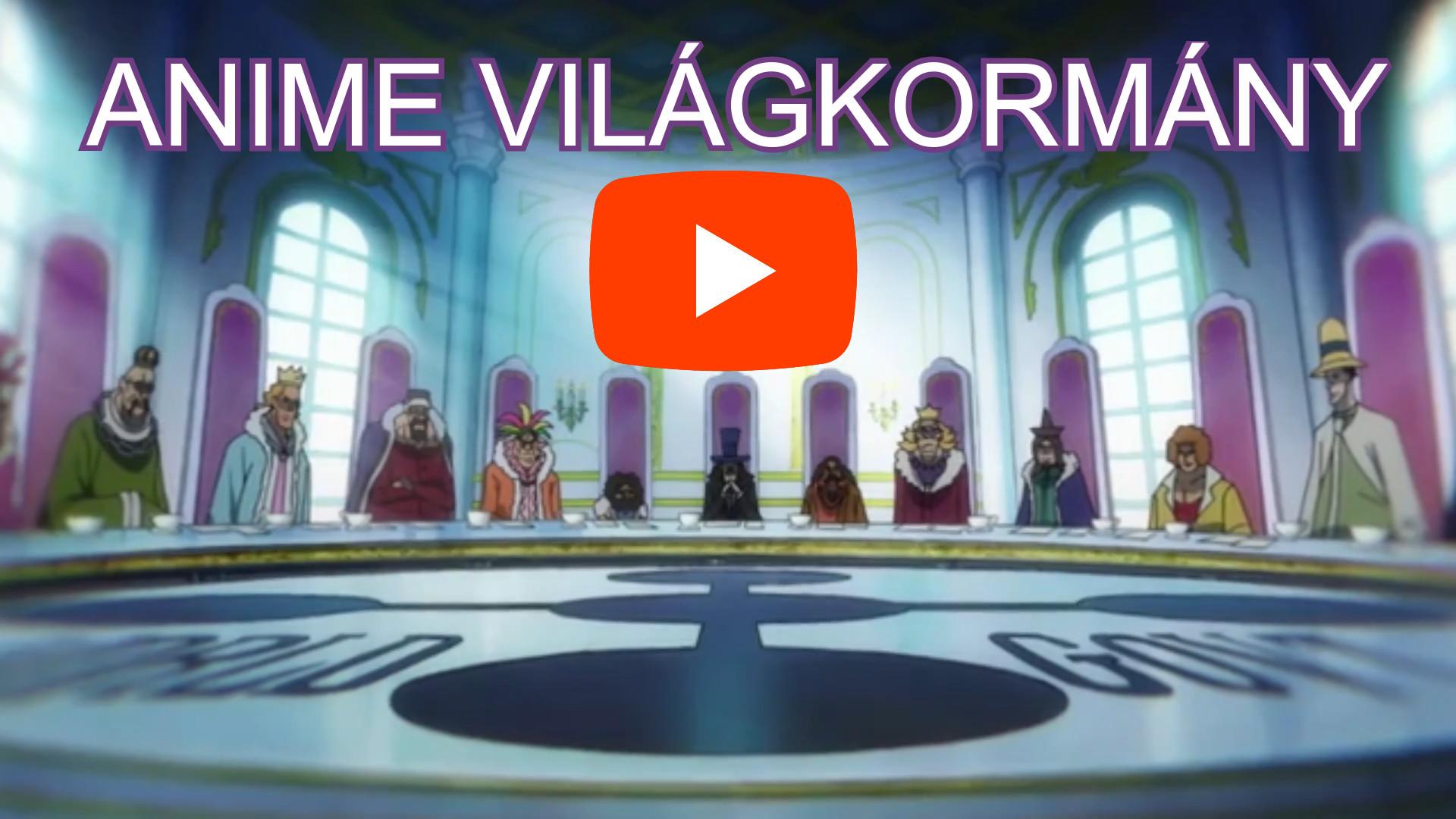 VilágKormányos Anime One Piece sorozat magyar feliratos video részlet