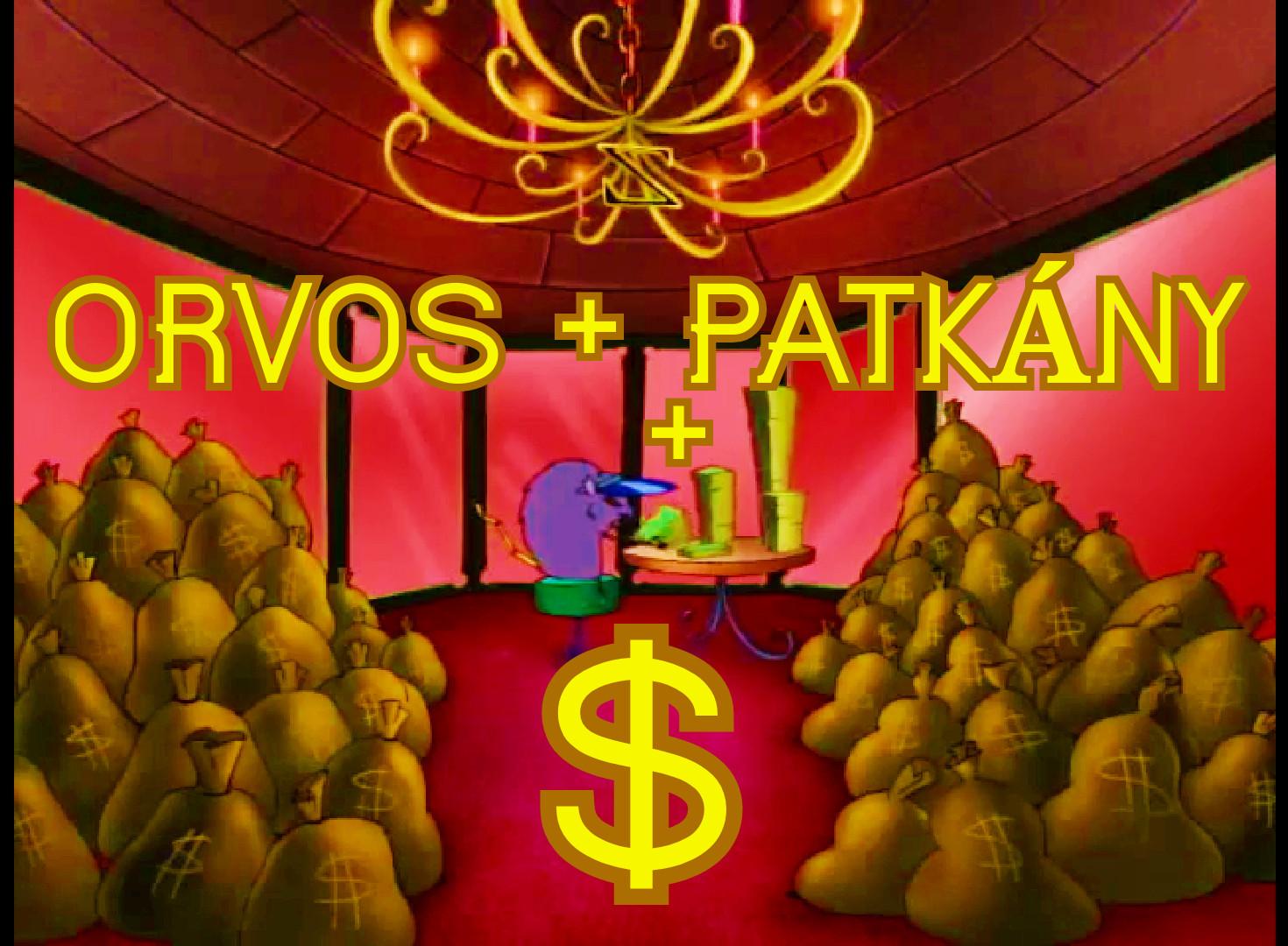 sok pénz patkány orvos vicces videó paródia