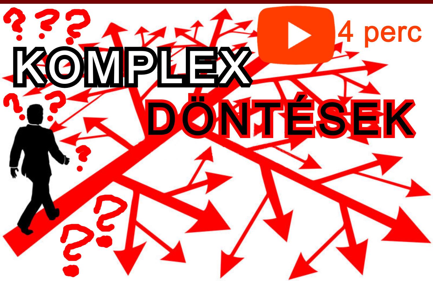 A nehéz döntések probléma megoldása videó