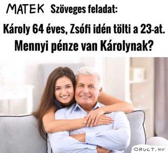 Gazdag férfiak vicces kép + matek feladat vicc
