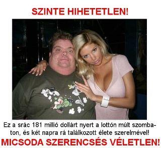 Gazdag pasik vicces kép + a lottó milliomos lotto nyertes barátnője